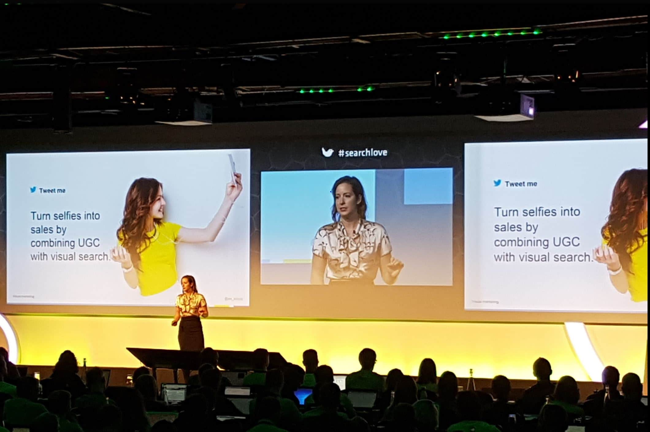 Jes Scholtz SearchLove London 2017