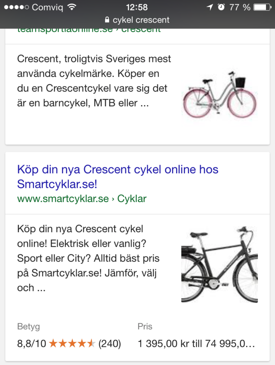 strukturerad data cyckel