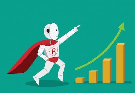 Bounce rate i Google Analytics av Robot