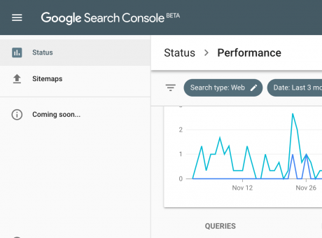 nya google search console beta