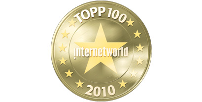 Internetworld Topp 100 - 2010